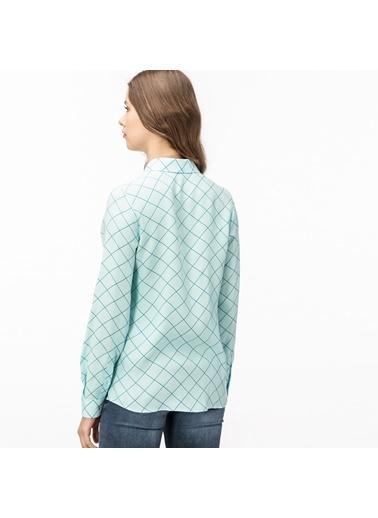 Lacoste Kadın  Gömlek CF0908.08Y Yeşil